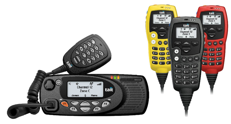 Digital DMR Two-Way Radio systems using Tait Communications